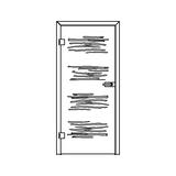 Ganzglas Design (Siebdruck)