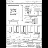 01 Blockrahmen sturzhoch/geschosshoch
